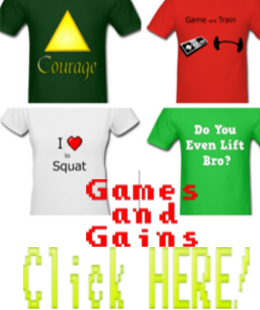 Games and Gains Shirt Shop