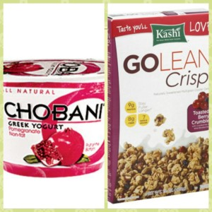 chobani and granola