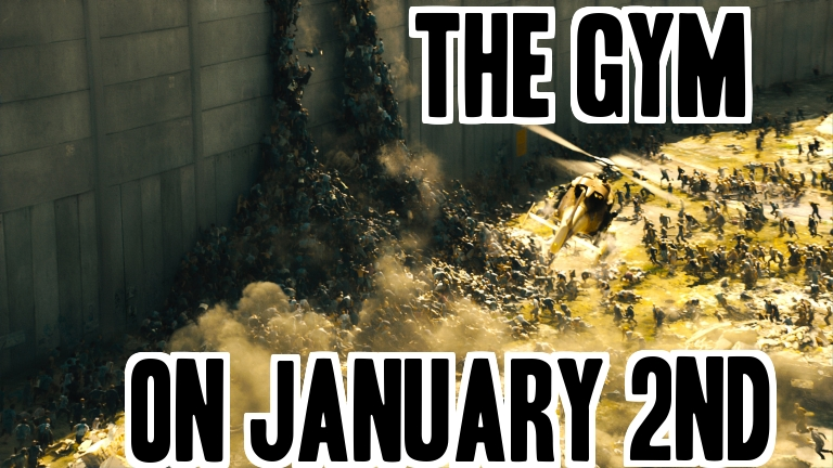 new years resolution gym